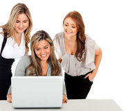 Group of business women Stock Photo