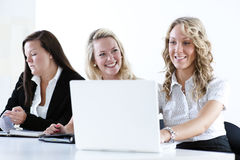 Group of business women Stock Photos