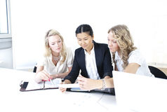Group of business women Stock Image