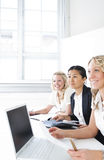 Group of business women Royalty Free Stock Photo