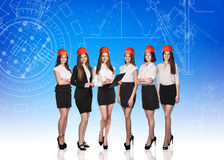 Group of business women Royalty Free Stock Photos