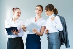 Group of business women Stock Photography