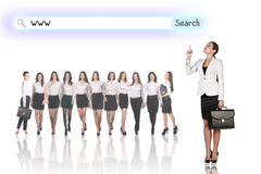 Group of business women Royalty Free Stock Photography