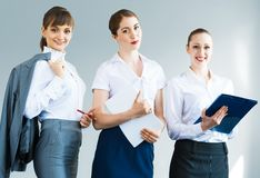 Group of business women Royalty Free Stock Image