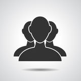 Group of businessman icon Stock Photography