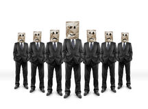 Group businessmans royalty free stock photos