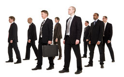 Group of businessmen Royalty Free Stock Photo