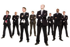 Group of businessmen Stock Photography