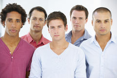 Group Of  Businessmen In Casual Dress Royalty Free Stock Photo
