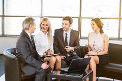 A group of businessmen Royalty Free Stock Image