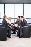 A group of businessmen Royalty Free Stock Photography