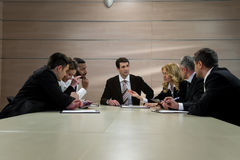 Group of businessmen. Stock Image