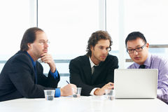 Group Of Businessmen Meeting In Office Royalty Free Stock Photography