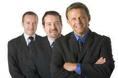 Group Of Businessmen Smiling Royalty Free Stock Image
