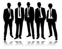 Group of businessmen Royalty Free Stock Photos
