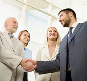 Group of businesspeople. Stock Images