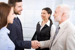Group of businesspeople. Stock Photo