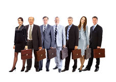 A group of businesspeople Royalty Free Stock Photo