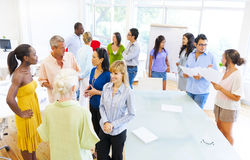 Group of businesspeople having a meeting Royalty Free Stock Photography