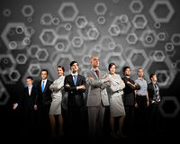 Group of businesspeople Royalty Free Stock Photo