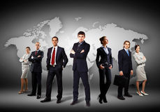Group of businesspeople Royalty Free Stock Images