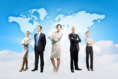Group of businesspeople Royalty Free Stock Photos
