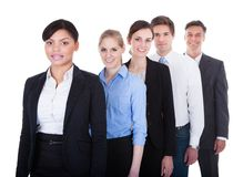 Group Of Businesspeople Standing Royalty Free Stock Images