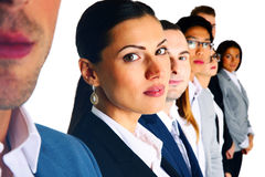 Group of businesspeople standing Stock Photos
