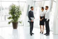 Group of Businesspeople Standing Together. Business Team Royalty Free Stock Image