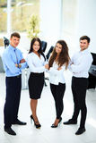 Group of businesspeople standing Royalty Free Stock Photography
