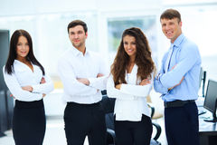 Group of businesspeople standing together Royalty Free Stock Photography