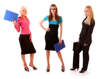Group of  businesswoman Stock Image