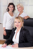 Group of businesswomen in the office Royalty Free Stock Image