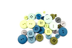 Group of Buttons Royalty Free Stock Photos