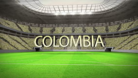 Group C world cup animation Royalty Free Stock Image