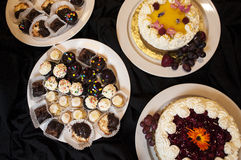 Group of cakes Royalty Free Stock Photo