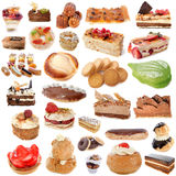 Group of cakes Stock Photography