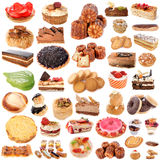 Group of cakes Royalty Free Stock Photography