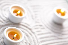 Group of candles Stock Photos