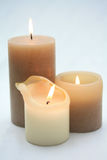 Group candles Royalty Free Stock Image