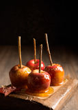 Group Of Candy Apples Stock Photos