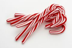 Group of candy canes Royalty Free Stock Photos