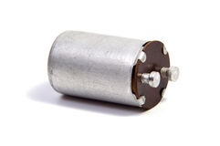 Group of capacitors  on white Royalty Free Stock Photo