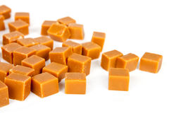 Group of caramel candy Stock Photography