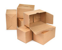 Group of cardboard Stock Photos