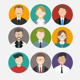 Group cartoon people. Available in high-resolution and several sizes to fit the needs of your project Stock Photo
