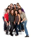 Group of casual people Stock Photography