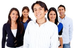 Group of casual people Royalty Free Stock Photography