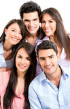 Group of casual people Royalty Free Stock Photo