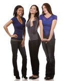 Group of casual women Stock Image